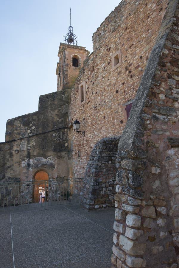 Terraza De Observación Del Campanario En El Rosellón