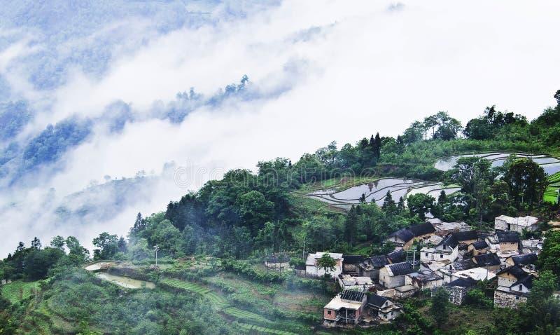 Terraza del arroz de Yuanyang fotos de archivo libres de regalías