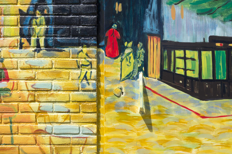 Terraza Del Café En La Noche De Vincent Van Gogh Foto De