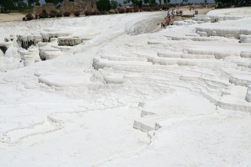 Terrazzi di Pamukkale immagine stock