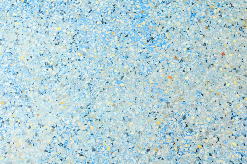 Terrazzo floor texture old, polished stone pattern wall and color surface marble for background image horizontal.  stock image