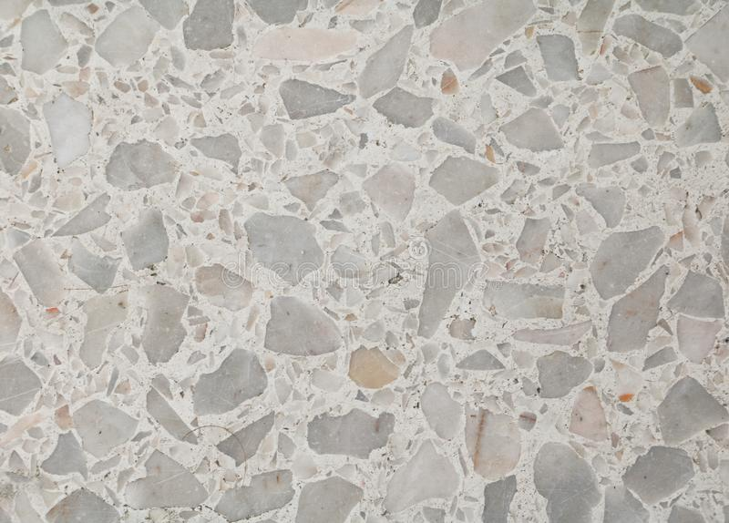 Terrazzo floor texture, polished stone pattern wall and color surface marble for background.  royalty free stock images