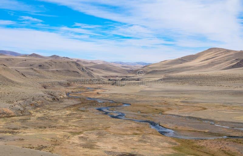 Terrazzo fluviale fotografia stock. Immagine di collina - 65247434