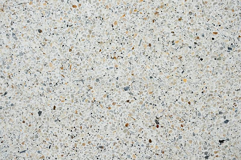 Terrazzo polished stone floor and wall pattern and color surface stock photos