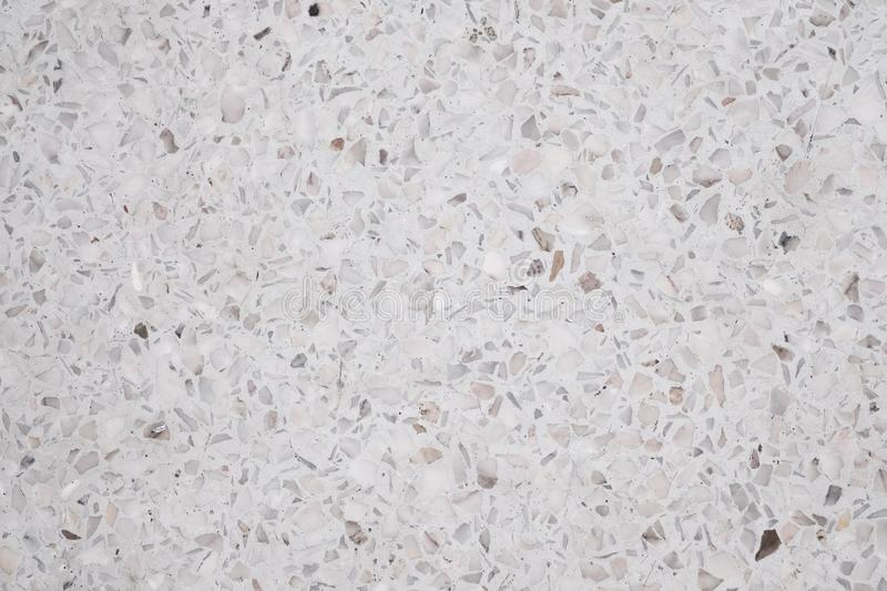 Terrazzo polished stone floor and wall pattern and color surface marble and granite stone, material for decoration background. Texture, interior design stock image