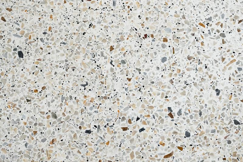 Terrazzo polished stone floor and wall pattern and color surface marble and granite stone, material for decoration background. Texture, interior design stock photos