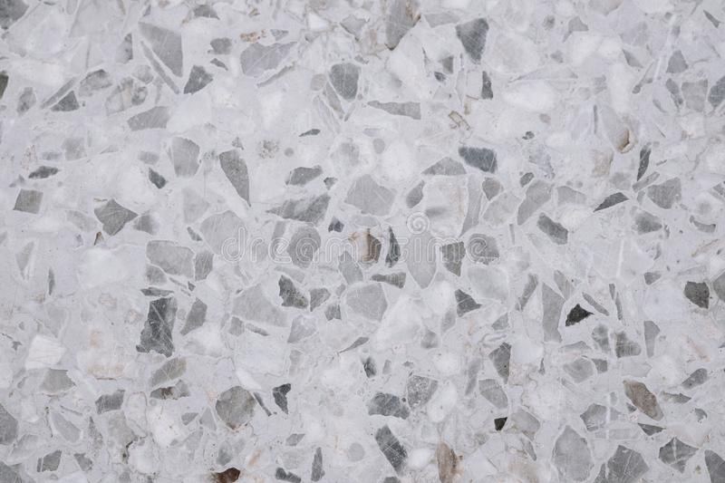 Terrazzo polished stone floor and wall pattern and color surface. Marble and granite stone, material for decoration background texture, interior design royalty free stock image