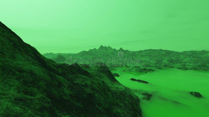 Terre acide 1 images libres de droits