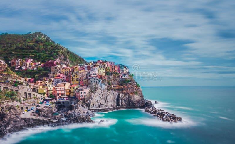terre manarola Италии cinque стоковое изображение rf