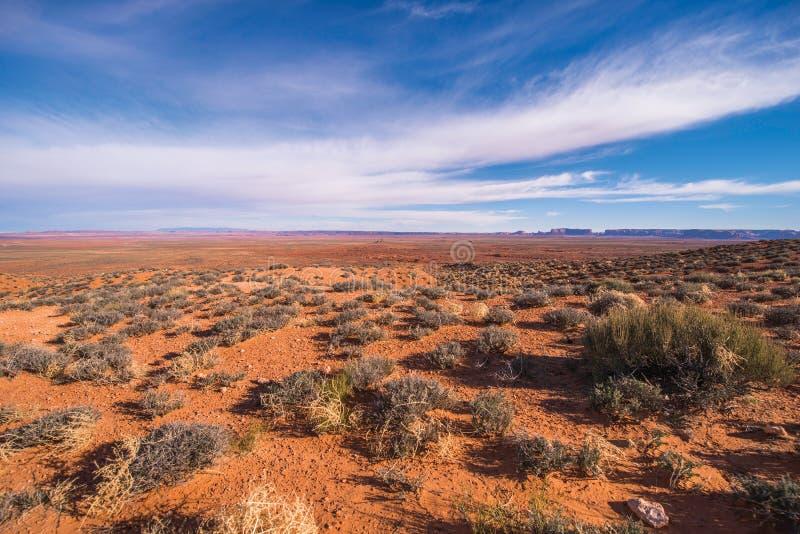 Terre navajo di nazione dell'Arizona fotografia stock libera da diritti
