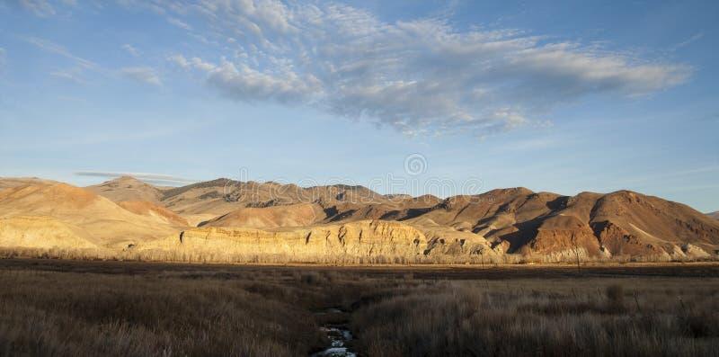 Terre occidentale de ranch des Etats-Unis Idaho de beau paysage images stock
