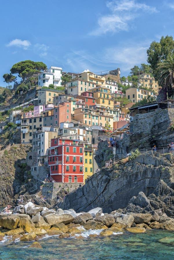 terre riomaggiore Италии cinque стоковая фотография rf