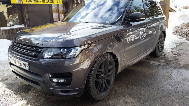 Terre Rover Range Rover Sport photos stock
