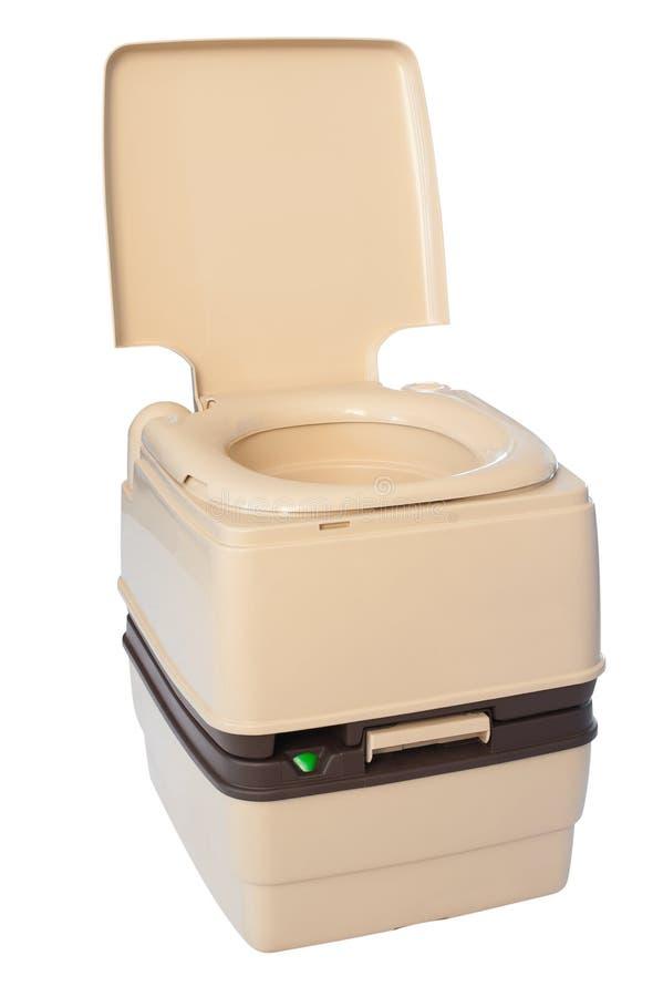 Terreautage de la toilette photographie stock