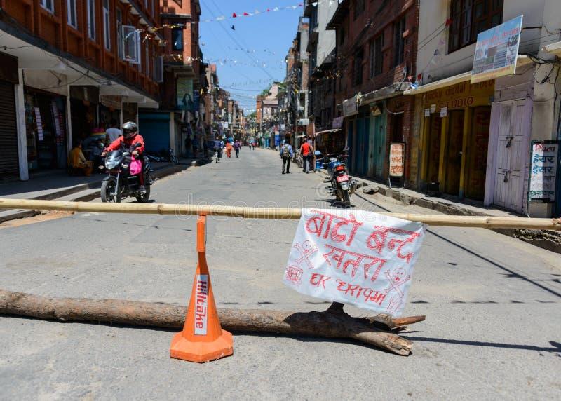 Terremoti del Nepal immagini stock