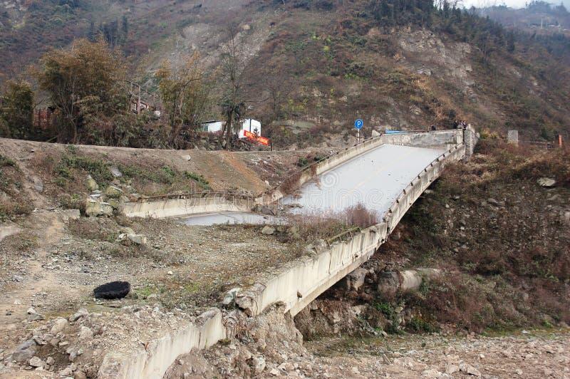 Terremoto fotografie stock libere da diritti