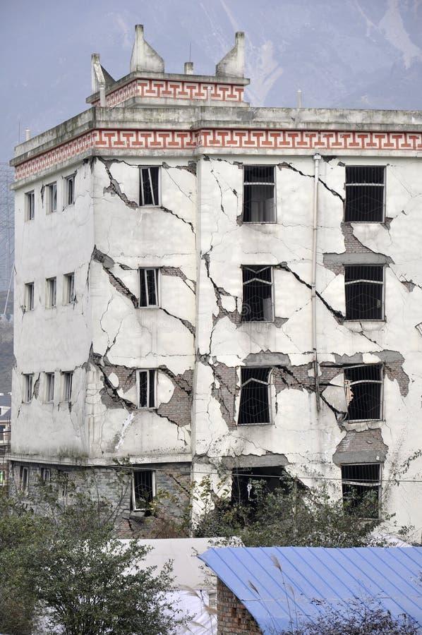 Terremoto immagini stock
