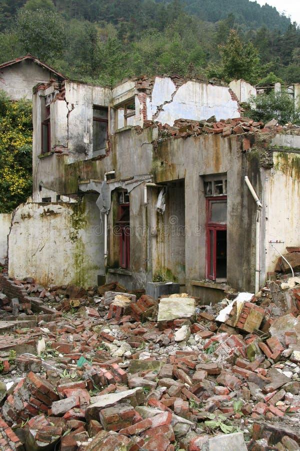 Terremoto 2008 del Sichuan fotografie stock