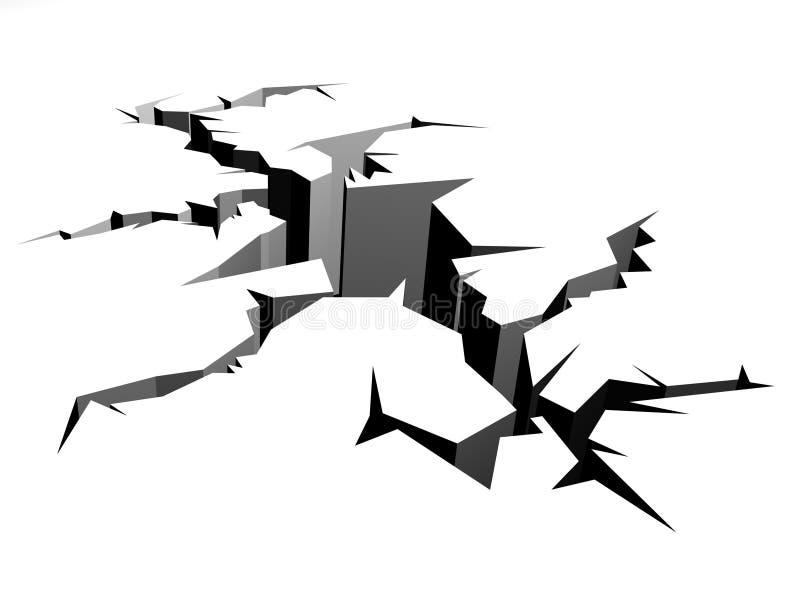 terremoto illustrazione vettoriale