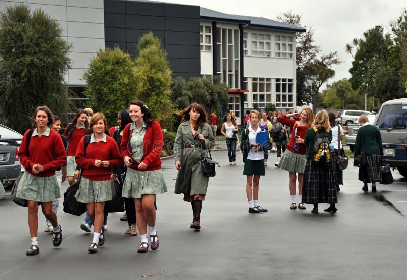 Terremoto de Christchurch - Burnside & Avonside foto de stock royalty free