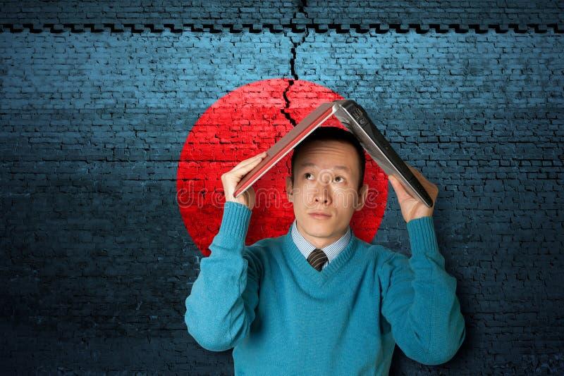 Terremoto de Japão imagens de stock royalty free