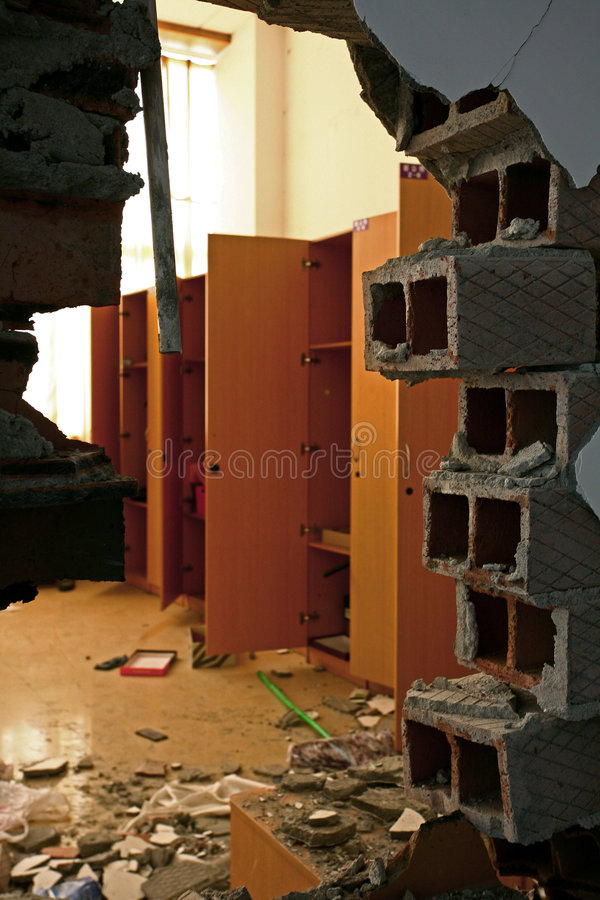 Terremoto em China foto de stock royalty free