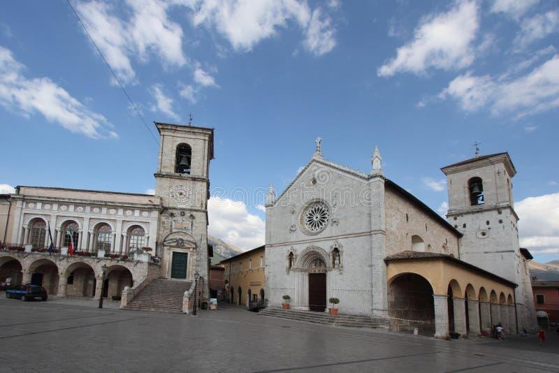 Terremoto en Italia imagen de archivo