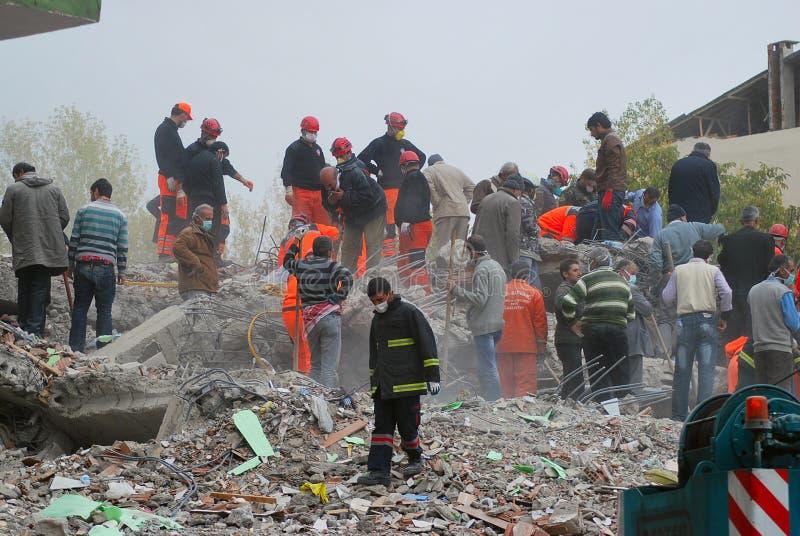 Terremoto en Turquía foto de archivo libre de regalías