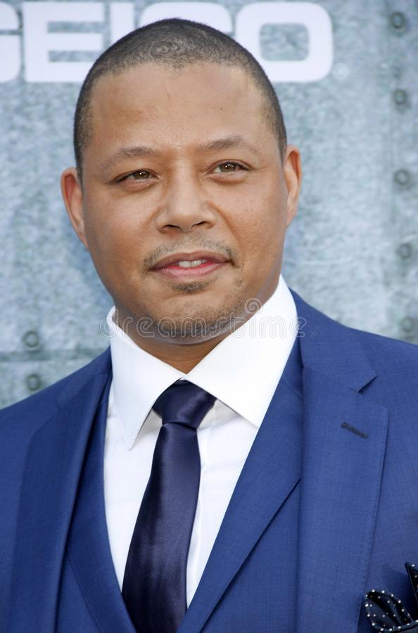 2015 Spike TV`s Guys Choice Awards. Terrence Howard at the 2015 Spike TV`s Guys Choice Awards held at the Sony Pictures Studios in Culver City, USA on June 6 stock photography