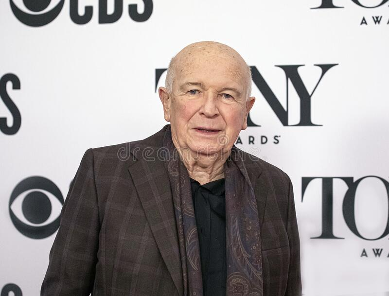 Terrence McNally at the 2019 Meet the Nominees Press Junket royalty free stock image