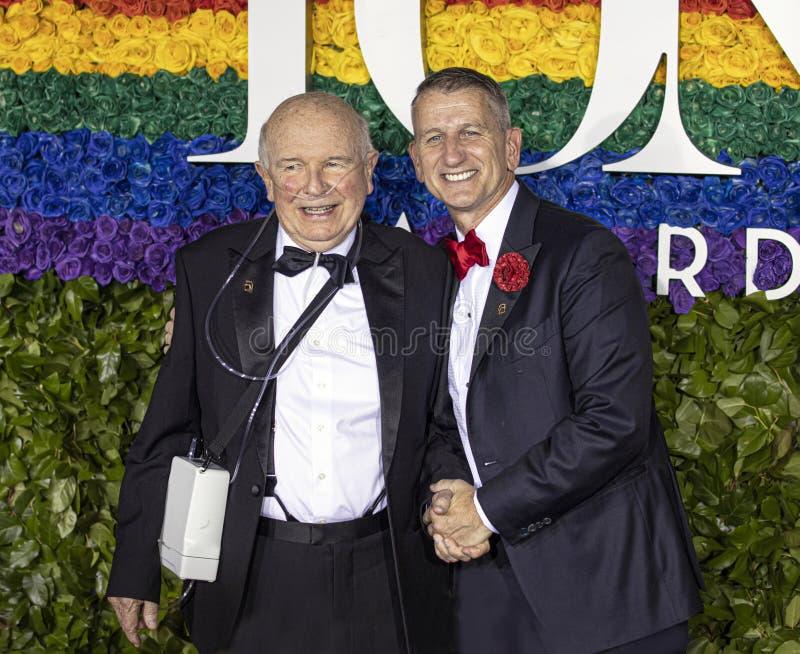 Terrence McNally at the 73rd Annual Tony Awards royalty free stock image