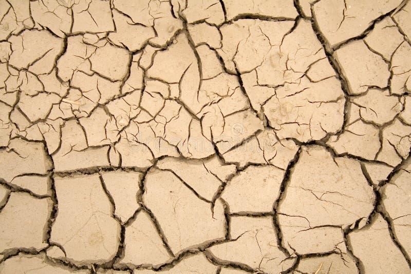 Terreno asciutto - riscaldamento globale fotografie stock libere da diritti