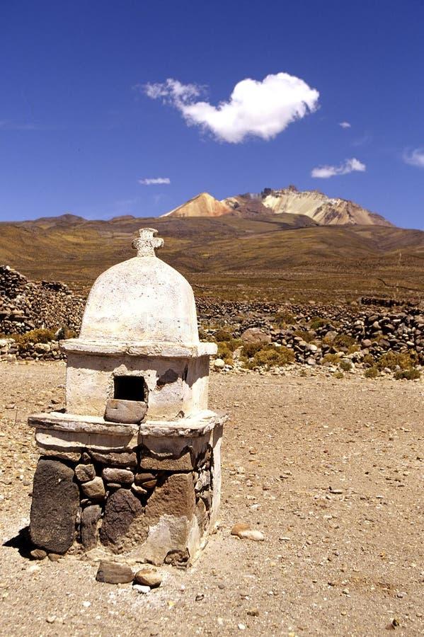 Terreno Bolívia do alto do EL fotos de stock royalty free