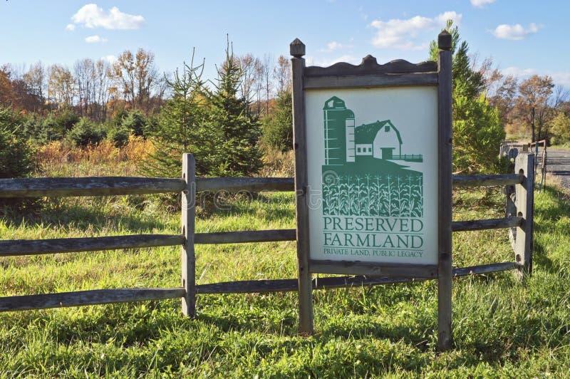 Terreno coltivabile conservato fotografie stock libere da diritti