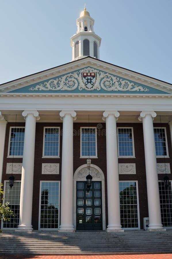 Terreno da Escola de Negócios de Harvard foto de stock