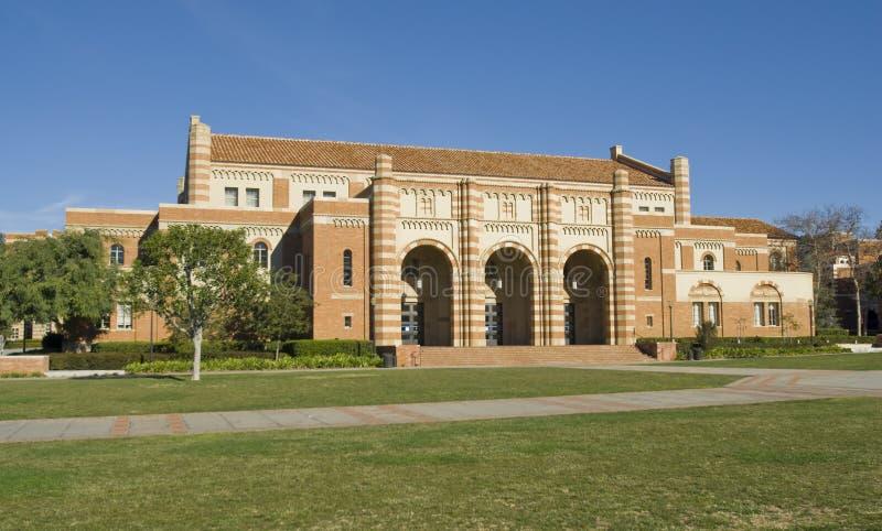 Terreno da faculdade de Califórnia fotografia de stock