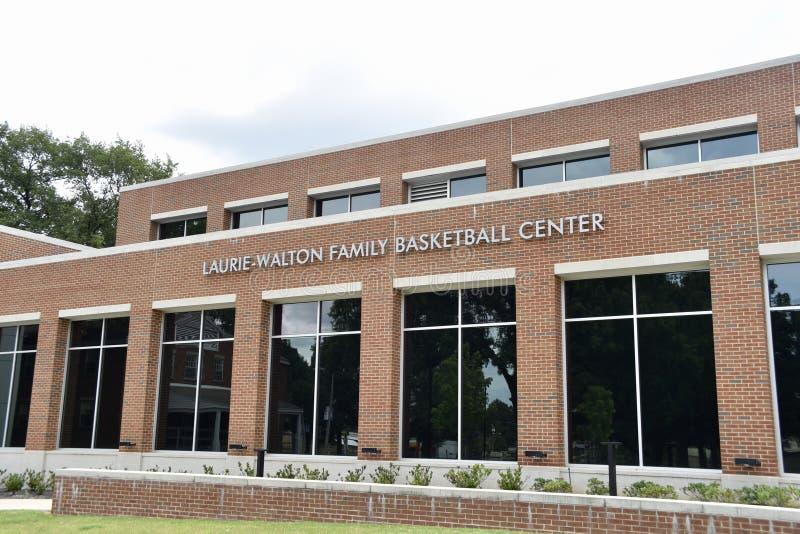 Terreno de Laurie-Walton Basketball Center Park Avenue, Memphis, TN fotos de stock