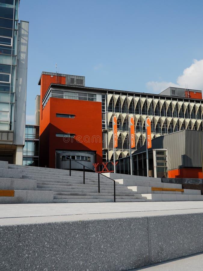 Terreno de Thomas More University College em Mechelen imagens de stock