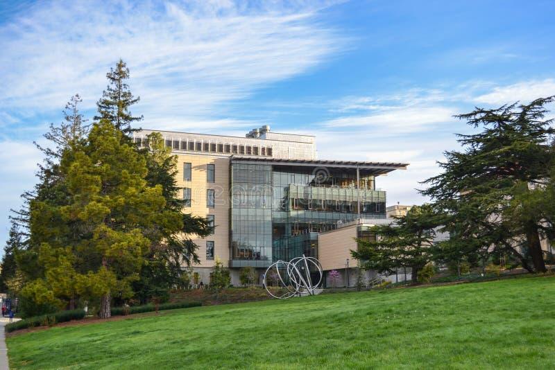 Terreno de Universidade da California imagem de stock royalty free