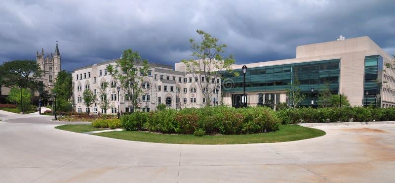 Terreno de Universidade Northwestern imagem de stock