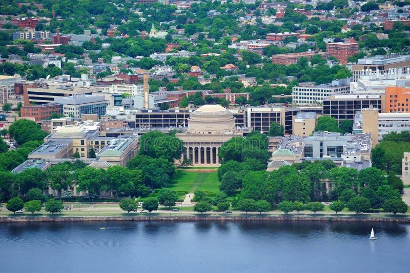 Terreno do MIT de Boston fotografia de stock