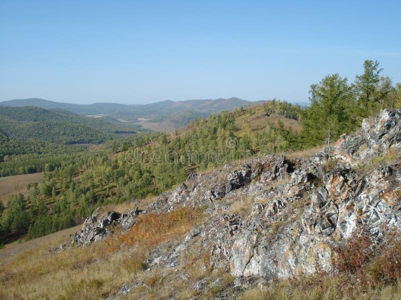 Terreno rocoso fotos de archivo