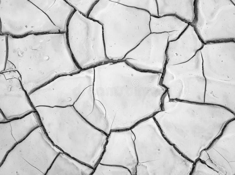 Terreno Secco-su dopo pioggia tropicale, Eilat immagini stock libere da diritti