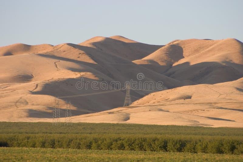 Terres cultivables #3 de la Californie photo libre de droits
