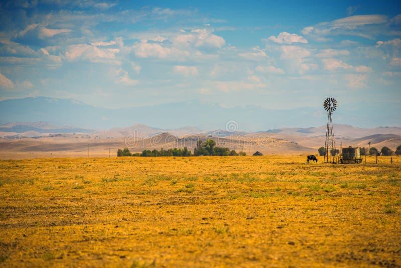 Terres cultivables de la Californie du sud photo stock