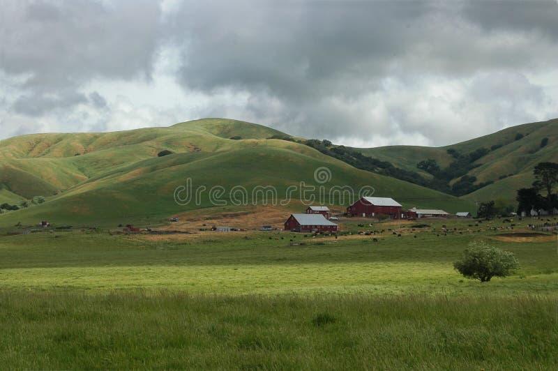 Terres cultivables Etats-Unis image libre de droits