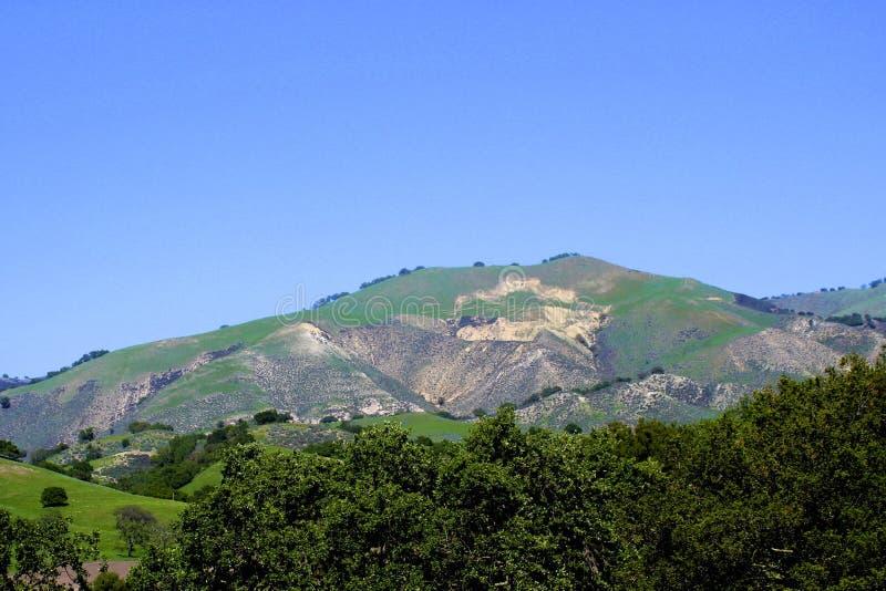 Terres cultivables Lompoc la Californie de montagnes images libres de droits