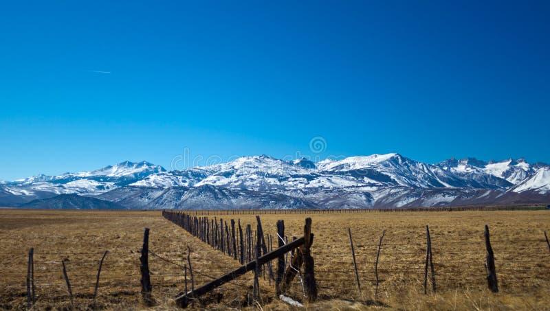 Terres de pâturage en Californie photos stock
