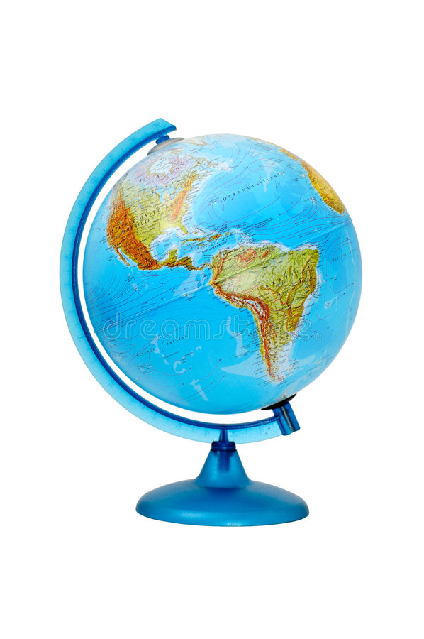 terrestre global photographie stock
