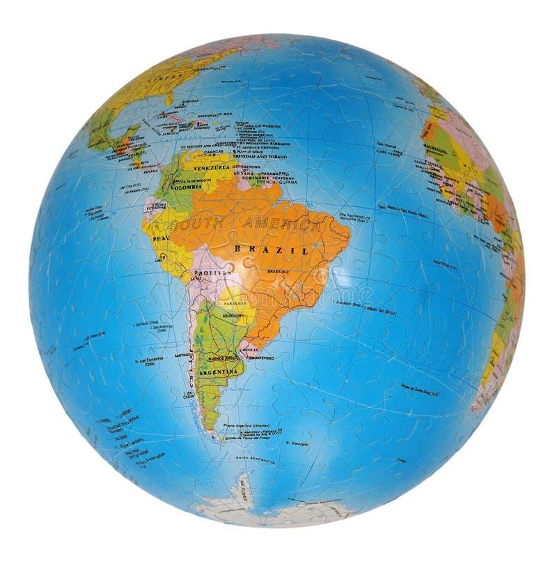 terrestrial jordklot royaltyfri foto